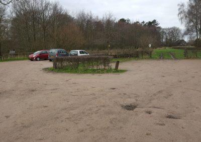 Herinrichting parkeerplaats Landgoed Hernen